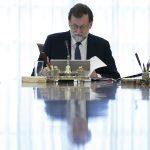 Rajoy preside el Consejo de Ministros.