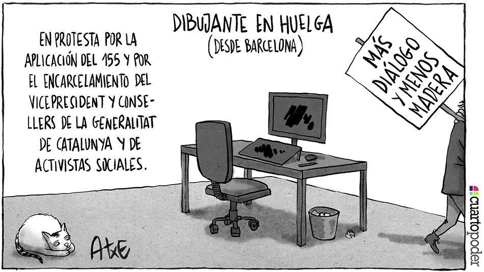 Más diálogo y menos madera_Catalunya