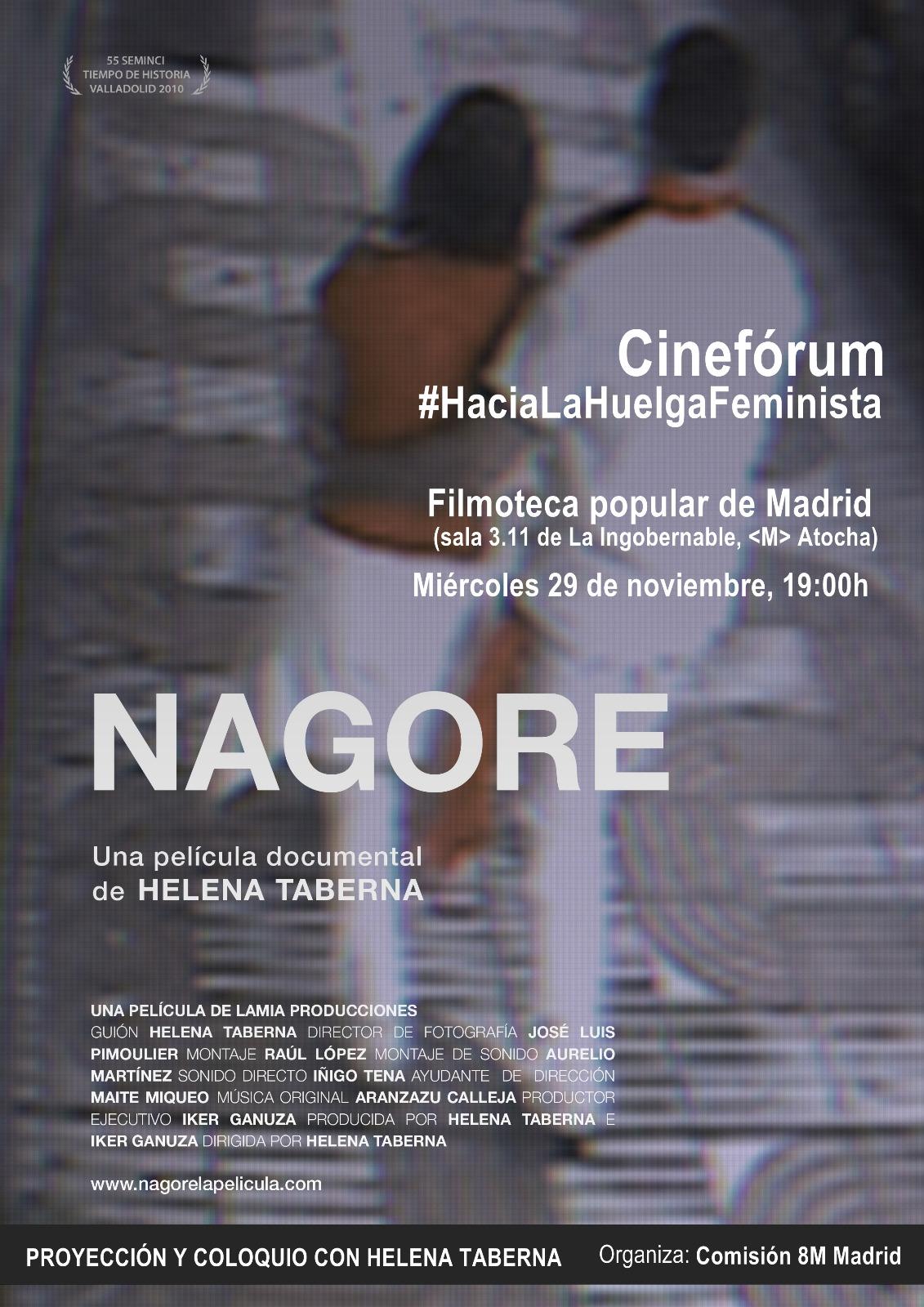 cineforum-proyeccion-pelicula-nagore - Cuartopoder