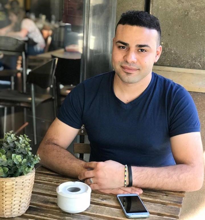 Mahmoud Alhawajri decidió huir de Gaza