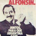 'Ahora, Alfonsín'