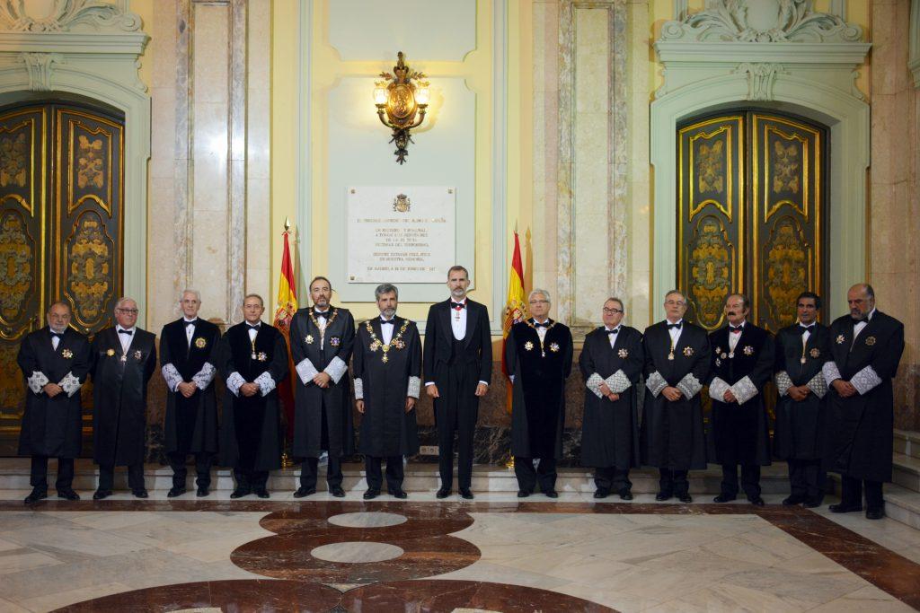 Apertura del año judicial sin mujeres