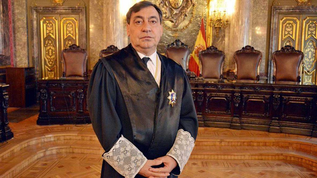 El magistrado del Tribunal Supremo Julián Sánchez Melgar, elegido para dirigir la Fiscalía General del Estado