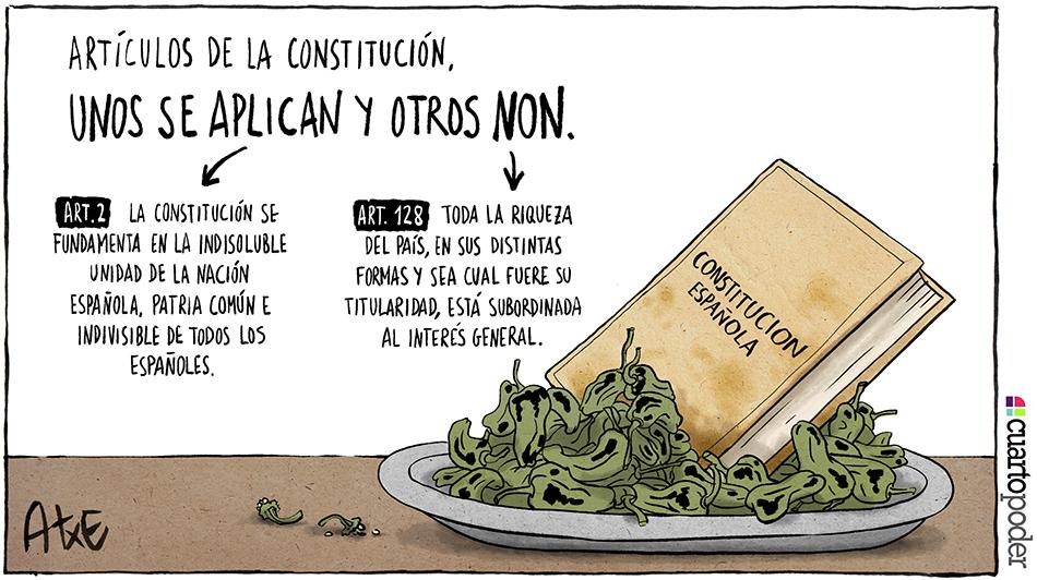 Los artículos del Padrón_Constitución española