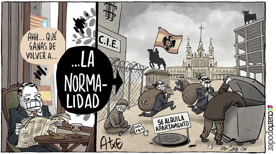 Volver a la normalidad_realidad española