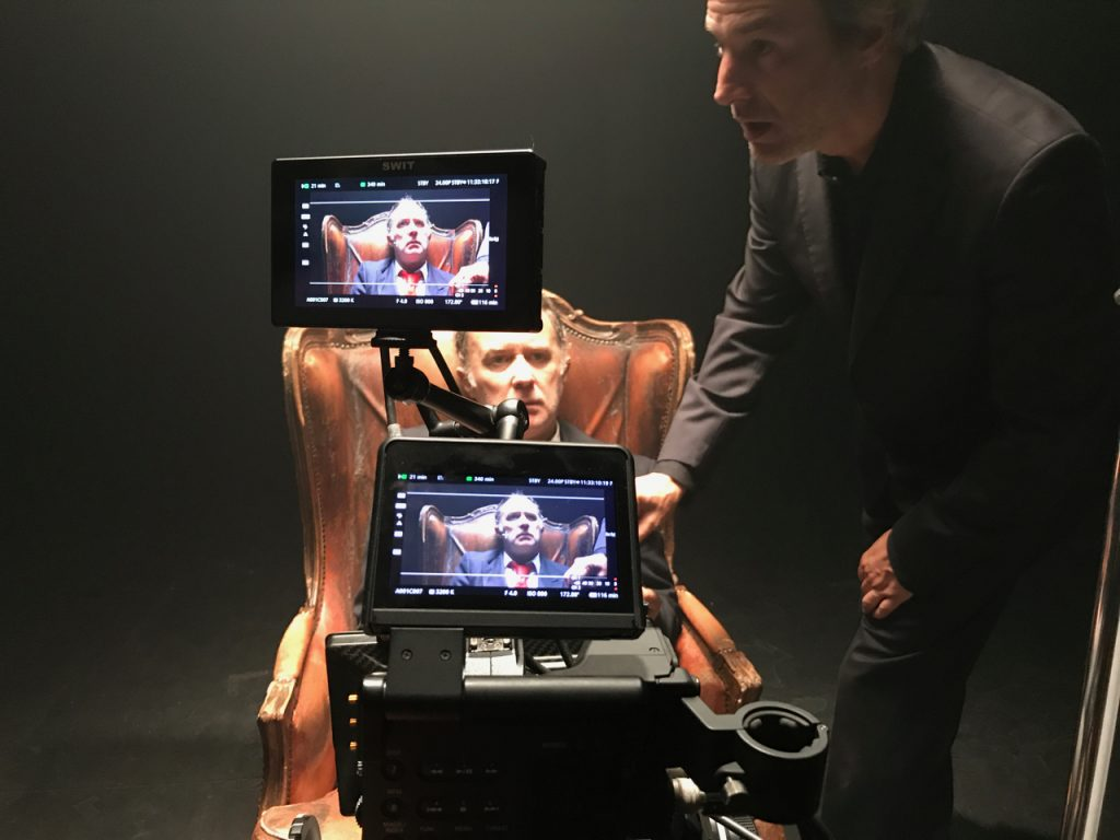 Escena del rodaje de 'El Rey'