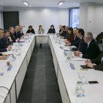Reunión de coordinación del partido con los secretarios ejecutivos del PP