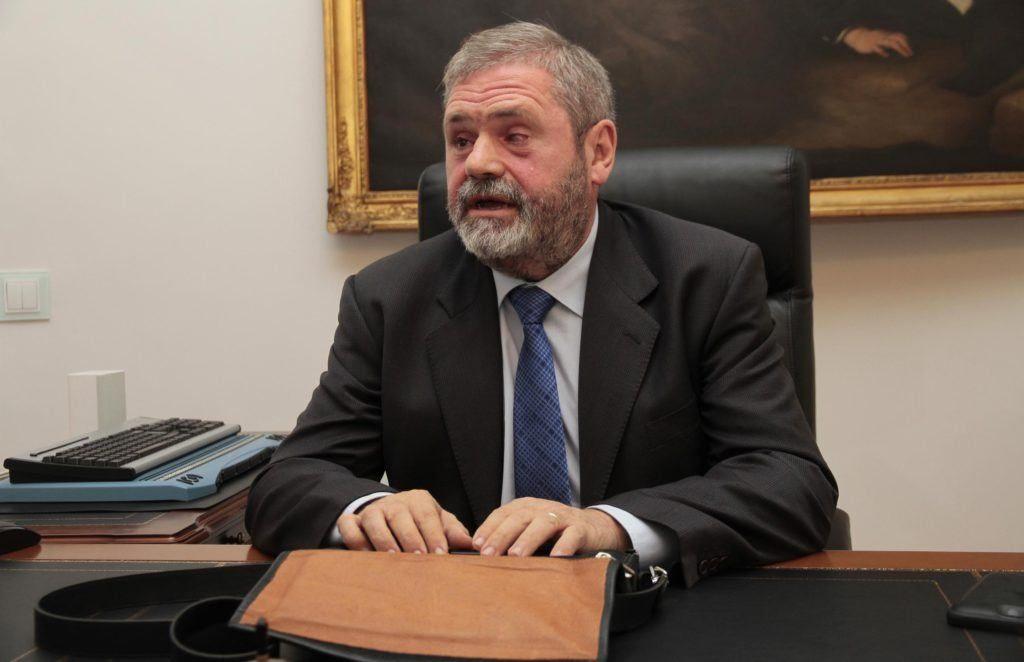 El abogado Miguel Durán en su despacho en el bufete Durán & Durán Asociados