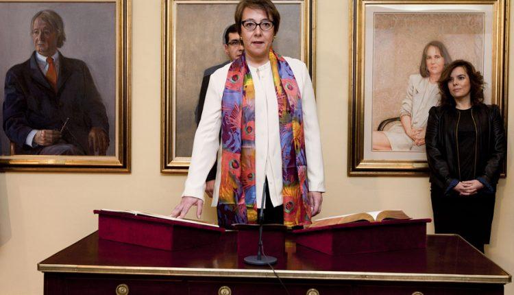 Nombramiento de Carmen Martínez Castro como secretaria de Comunicación del PP.