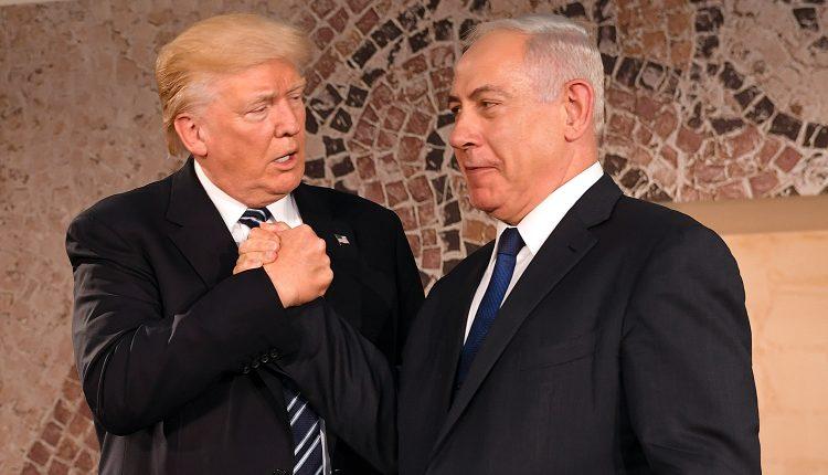 El presidente Donald Trump en el Museo Israelí en Jerusalén en su visita a Israel en Mayo de 2017.