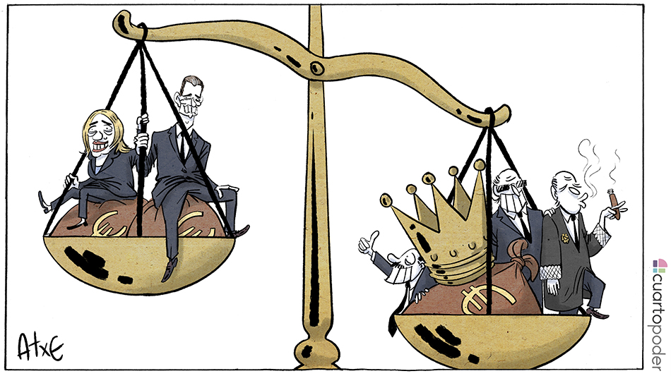 La balanza de la justicia_caso Nòos