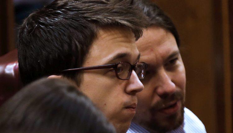 Íñigo Errejón y Pablo Iglesias en una imagen de archivo en el Congreso. Gobierno del PSOE