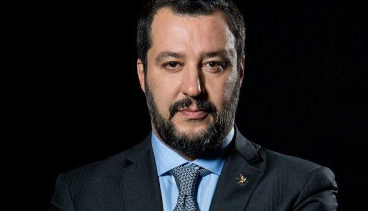 Ministro del Interior y líder de la Liga Norte, Matteo Salvini.