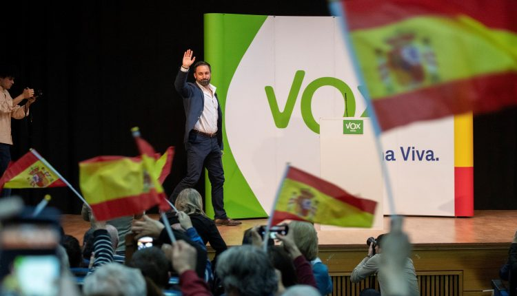 Mitin de Vox en Teruel
