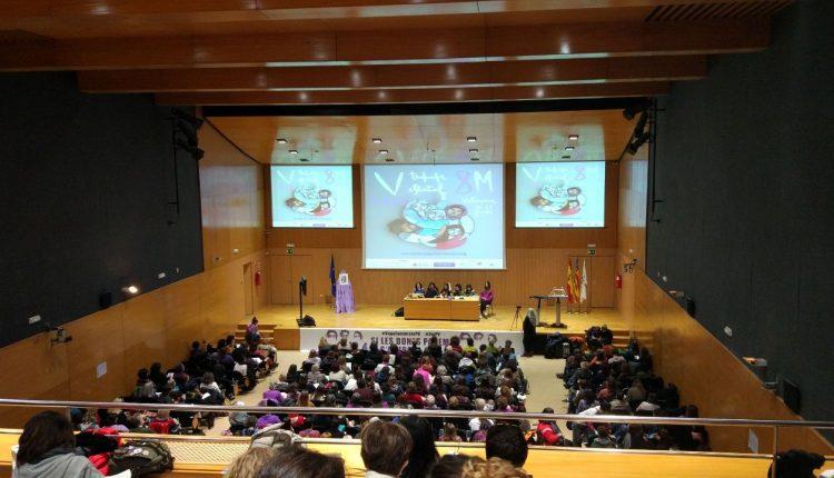 V Encuentro estatal para organizar la huelga del 8M. Ha tenido lugar en Valencia.