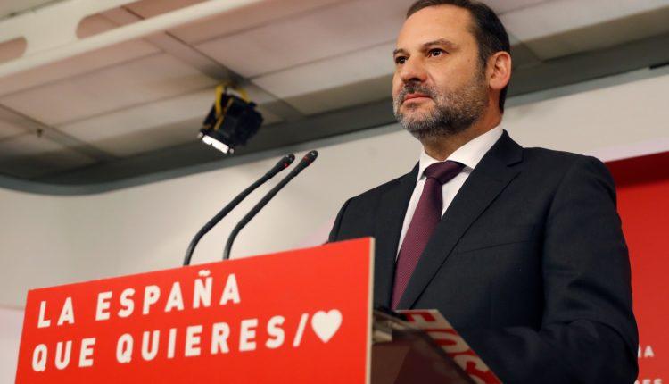 Rueda de prensa de José Luis Ábalos sobre actualidad política