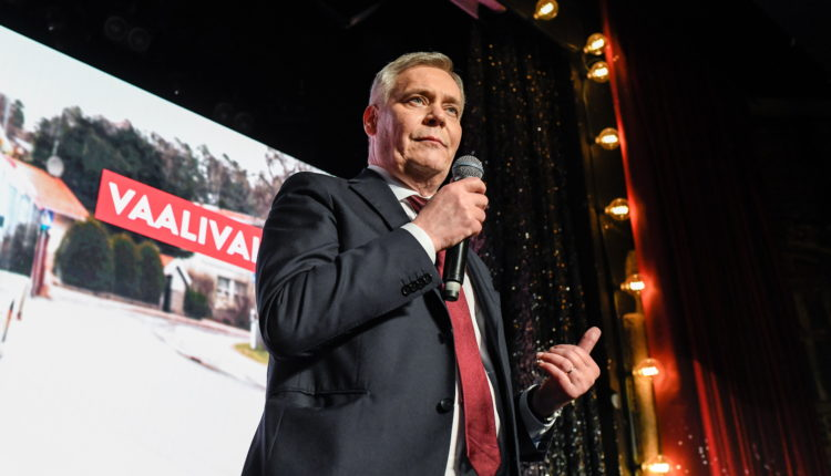 Social Democratic Party leads in Finland's general election