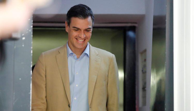 Reunión ejecutiva PSOE presos políticos