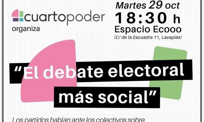 debate electoral más social