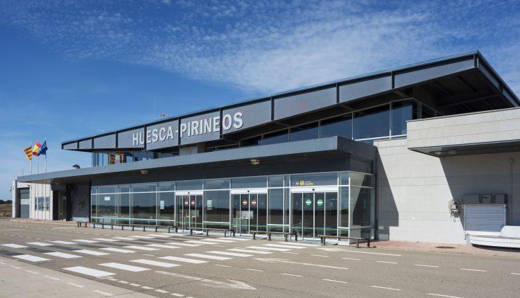 El aeropuerto de Huesca