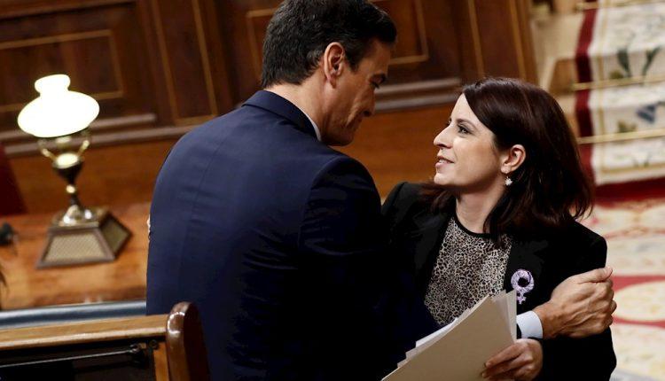 Adriana Lastra-Pedro Sánchez